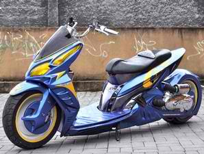 Honda Vario Contest Motor Modif low