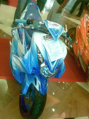 modif drag mio for contest show