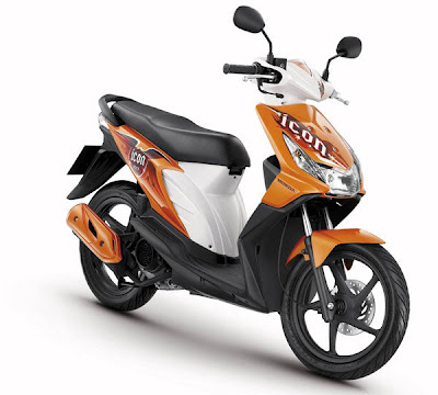 Modif trend 2 color in trend honda BEAT