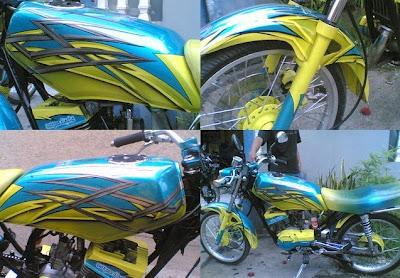 Modif 2011 trend Yamaha RX King