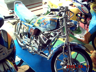 Modifikasi Yamaha RX King Airbrush Extreme