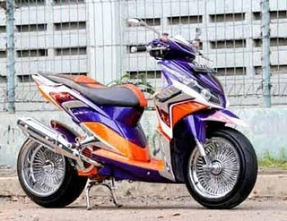 Modifikasi Honda New Vario CBS 2011