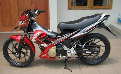 2009 red for sale foto gambar modifikasi motor terbaru 2012 2013
