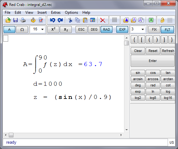 Kalkulator Dengan Tampilan Menghitung [Seperti] Menulisnya