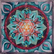 Heart Mandala for the Bloggers With the Open Heart