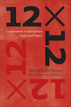 12 x 12: CONVERSATIONS IN 21ST CENTURY POETRY AND POETICS!: Click image to purchase