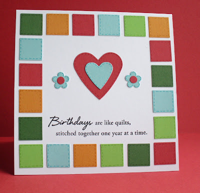 Simplicity Birthday Card Inspiration