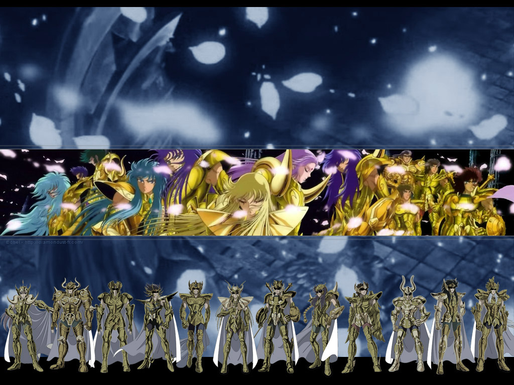 Saint Seiya - The lost Canvas.