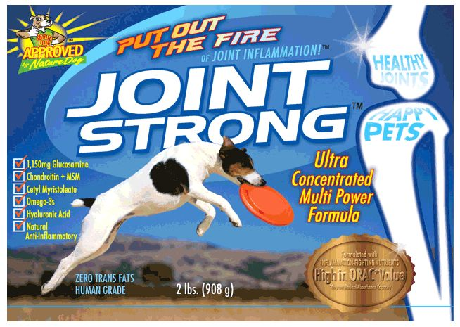 Animal Naturals Joint Strong Joint Supplement For Dogs