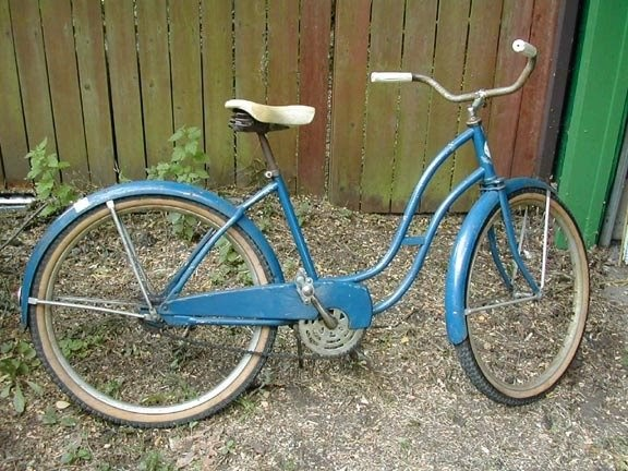 Old Bike Blog Reader Project Renee S Rollfast