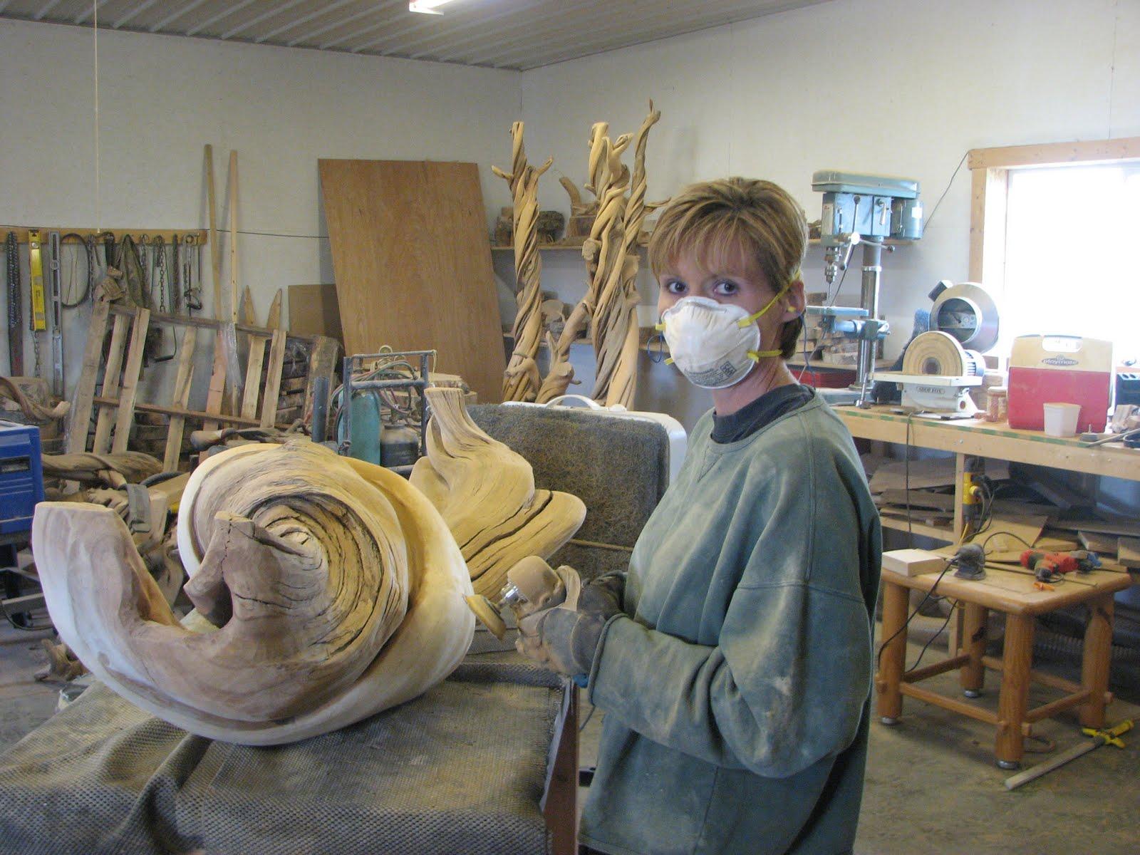 Custom Juniper Log Furniture Taxidermy Pedestals August
