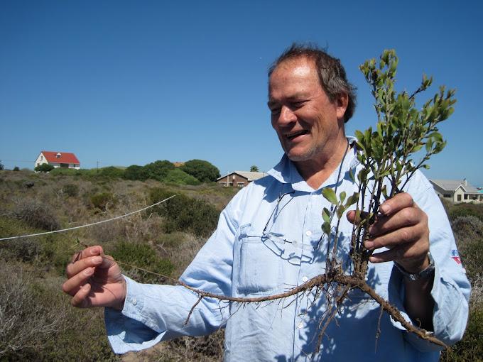 Happy botanist