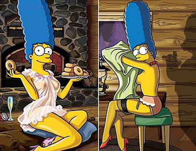 Telezapping Marge Simpson Desnuda En Playboy