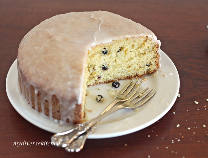 My Diverse Kitchen: French Style Lemon-Yogurt Cake (Gâteau au Citron ...