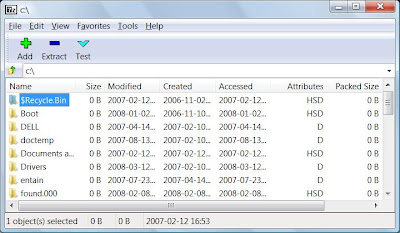 how to open a rar file without software