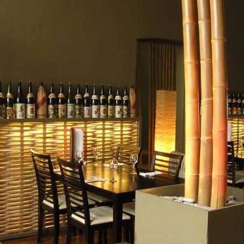 Bamboo Flexible Room Divider Uk