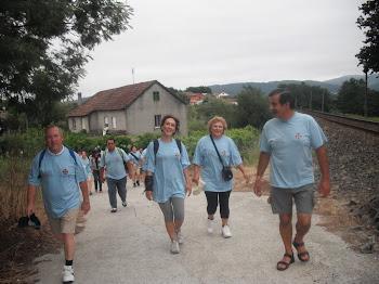 Tramo final do camiño Portugués