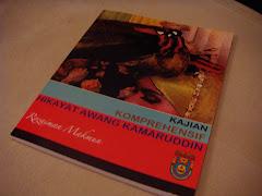 Buku Saya: Kajian Komprehensif Hikayat Awang Kamaruddin, cetakan 2009