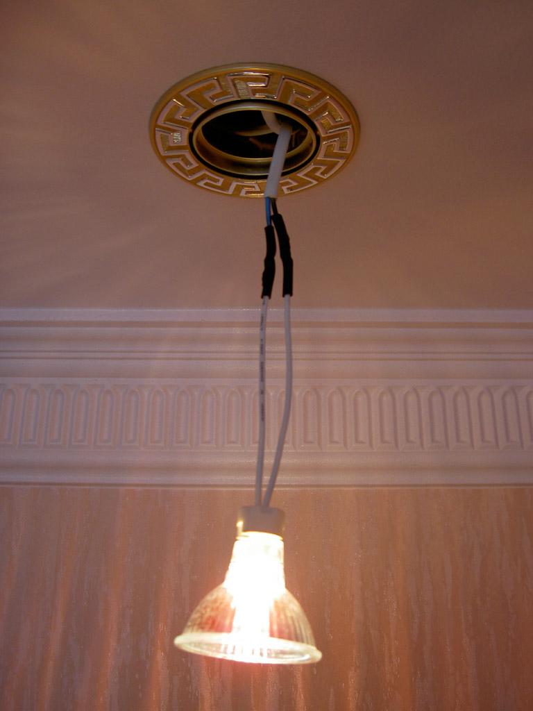 Как сделать светильник из точечного светильника своими руками 582