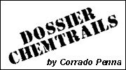 Dossier chemtrails a by Corrado Penna