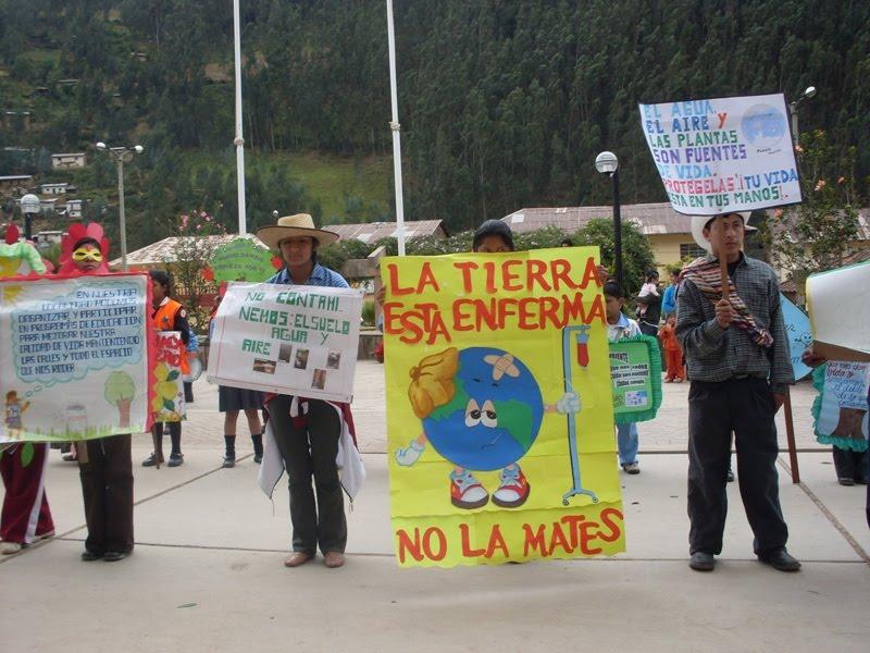 Tingo María conmemoraron Día Mundial del Medio Ambiente | Inforegion
