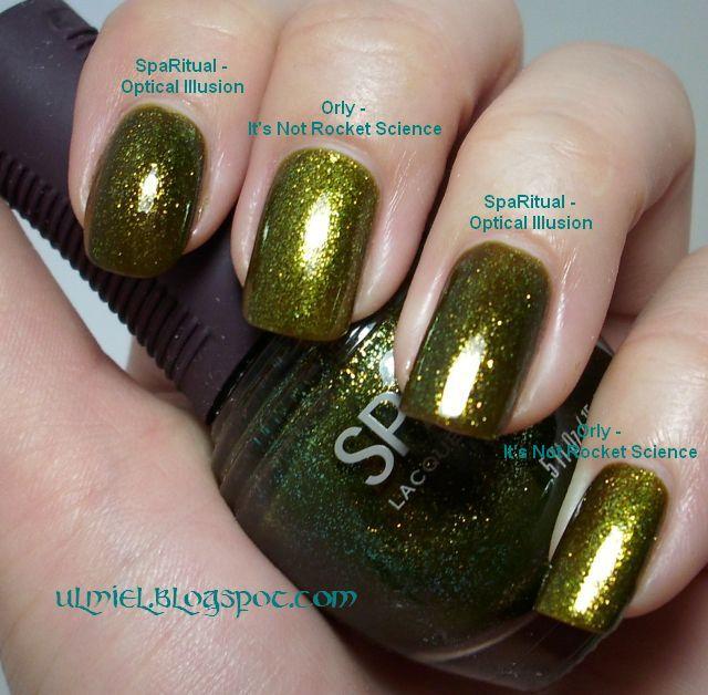 Did someone say nail polish?: Comparison: SpaRitual Optical Illusion ...