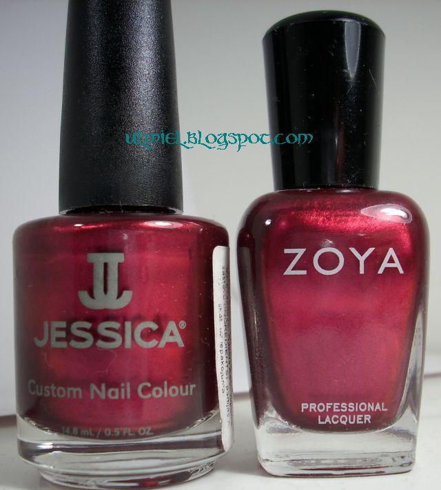 Did someone say nail polish?: Comparison: Jessica - Shall We Dance ...