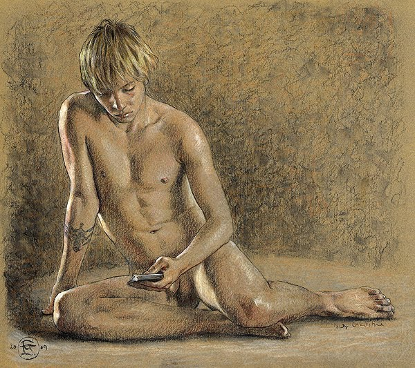 Art boy erotic