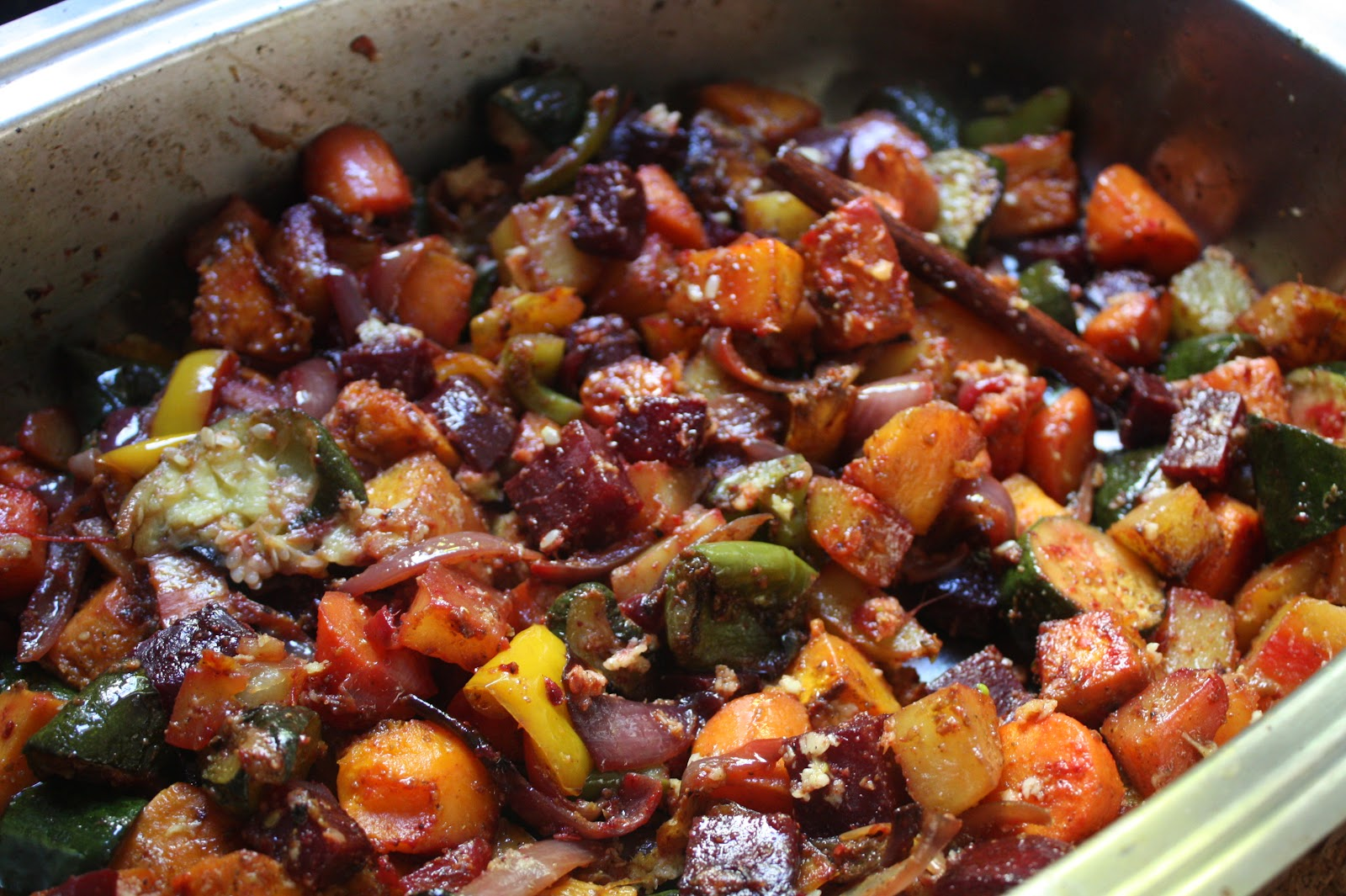 The Laughing Gastronome: Oven Roasted Vegetable Curry