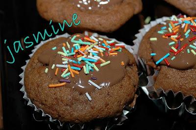 Muffins cu banane si Nutella II