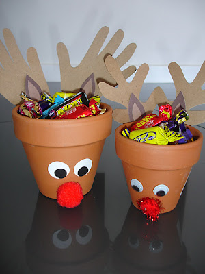 Reindeer craft treat holders from every heart counts