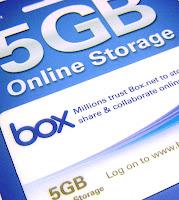 5GB Online Storage from Box.net
