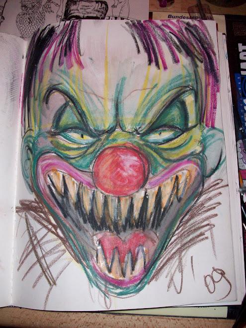clown -sketch
