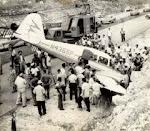 avioneta derribada primeros anos de revolucion