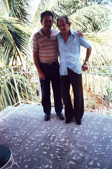 Luis Garcia y su padre Fendo