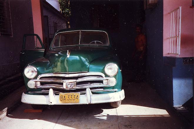 Carro de Julito Rodriguez