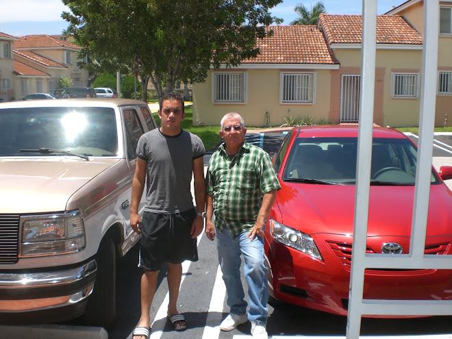 Yassel Priedes y Jesus Arias