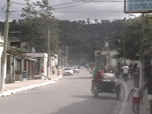 Calle Real desde casa de Herminio Rosa
