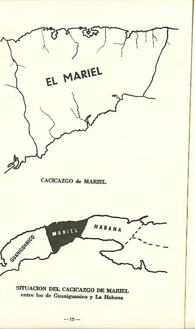 Mapa del Cacicazco de Mariel