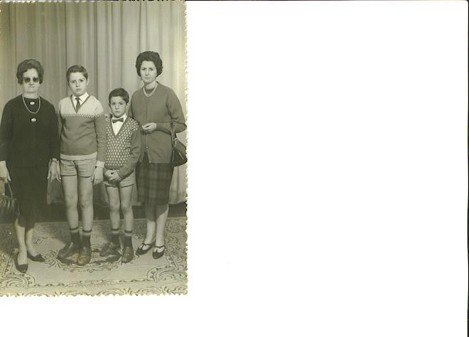 Esperanza Cruz,nietos,hija Edilia