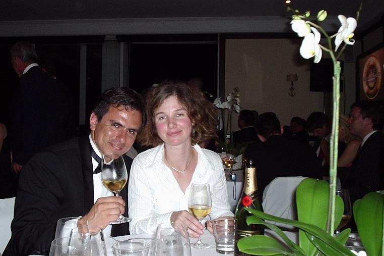 Concurso Mejor Sommelier del Mundo Grecia 2004