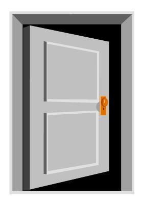 Mind body thoughts walk through open doors for Door 4 montpellier walk