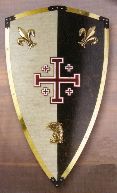 Presentes de reclamação dos filhos de Apolo Caballero-jerusalen-escudo