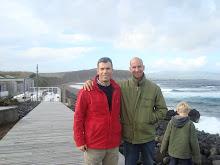 Passagem de Mike Stewart pelos Açores