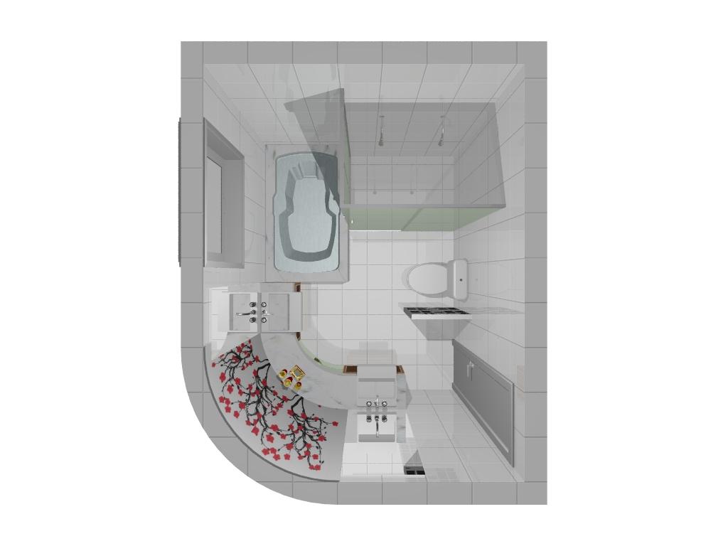 Banheiro Suite Suite Master   V0.jpg #7E3639 1024 768