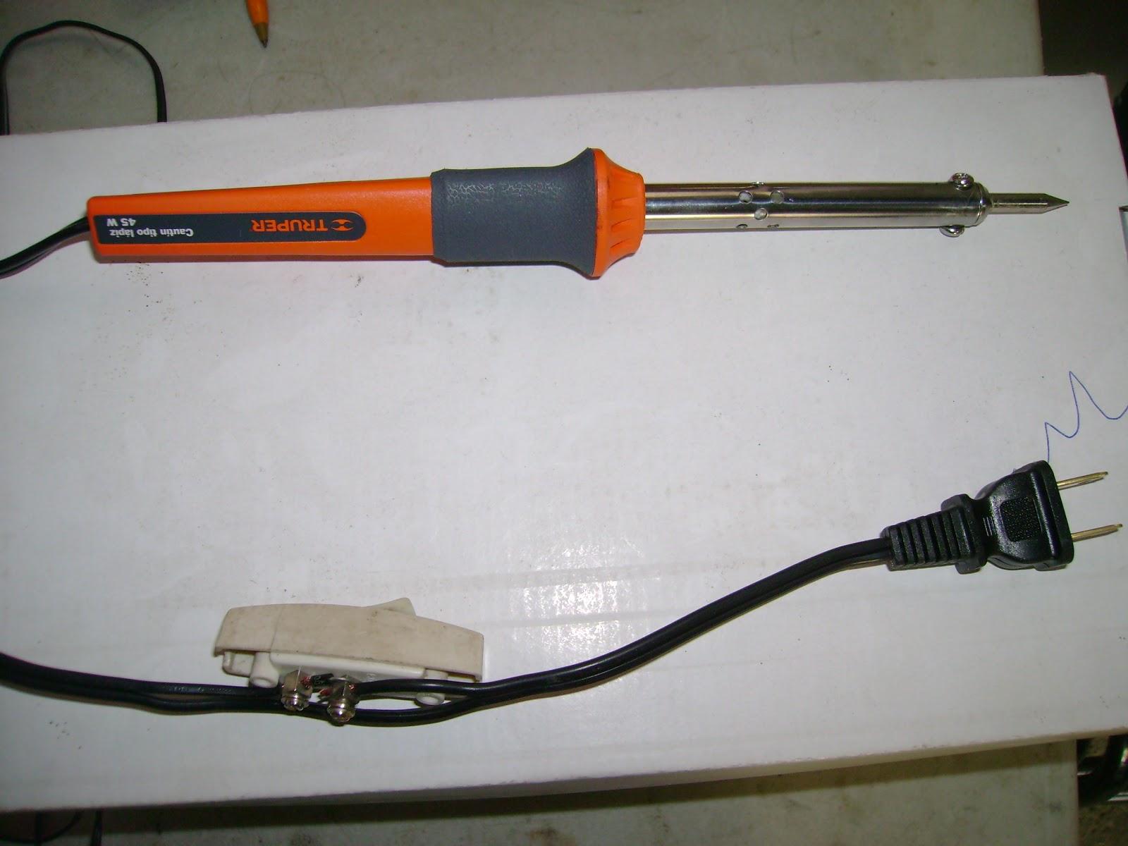 EDIS CORNER: Tips and Tricks pencil-type soldering iron