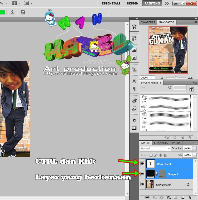 how to change opacity of object in photoshop