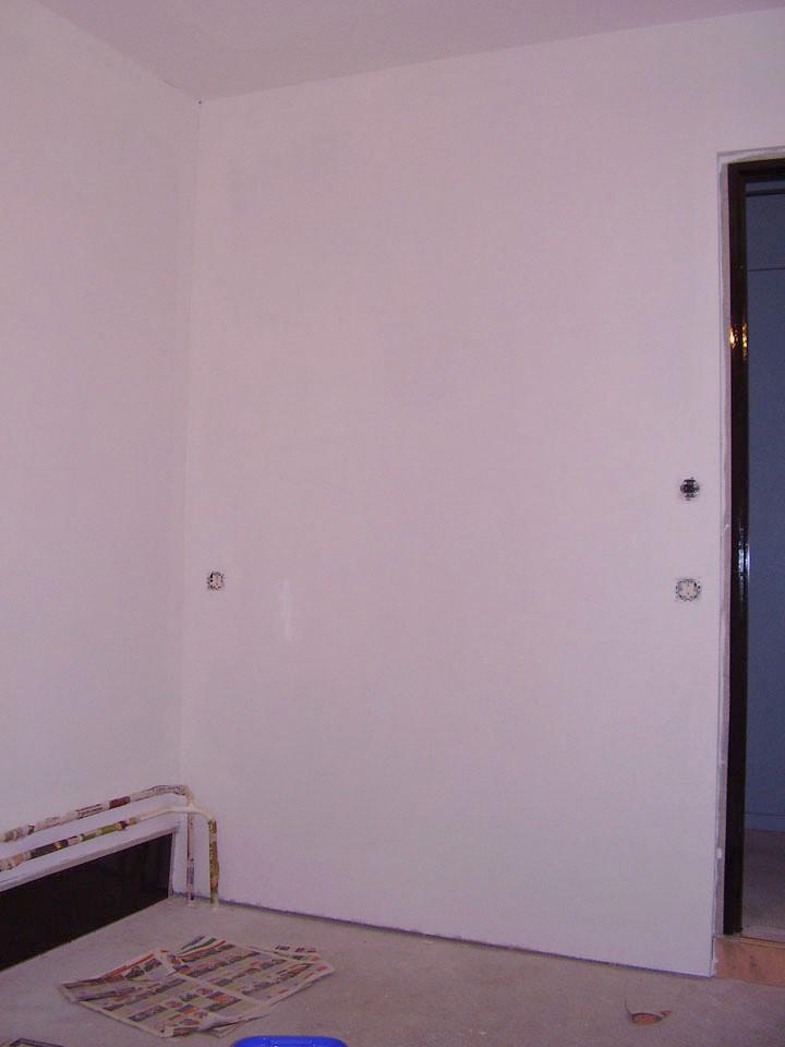 Slaapkamer Verven : Ik heb vandaag de twee houten muren kunnen verven ...