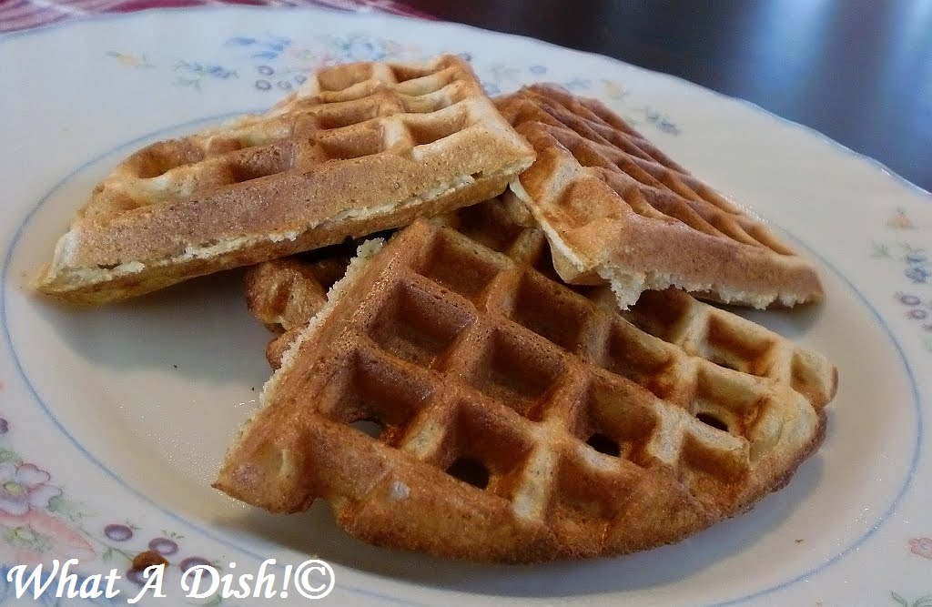 buttermilk waffle recipe. a different waffle recipe,