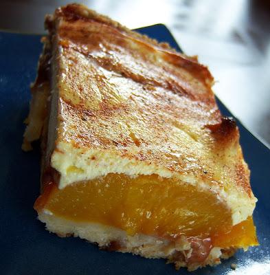 What A Dish!: Sour Cream Peach Kuchen   {Küchenmöbel made in germany 16}